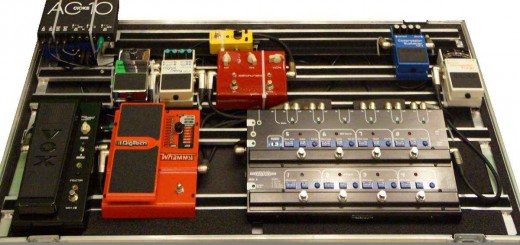 Custom Guitar Pedal Board